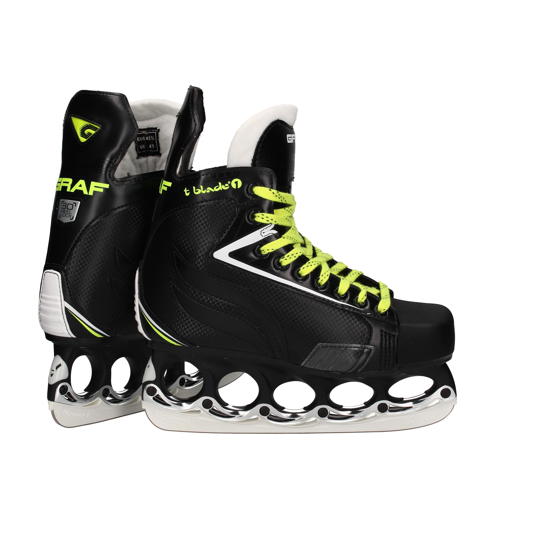 272 schwarz t blade t-blade Stabilisator für Eishockey Skates mit Schlüssel