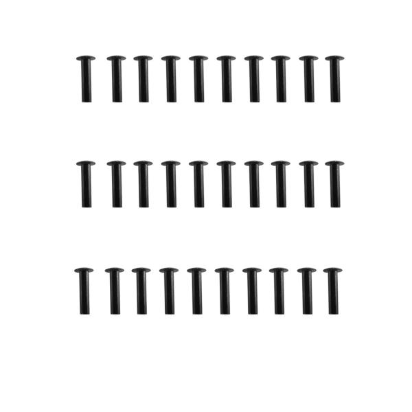 Nieten Set für Holdermontage - 30 Stück