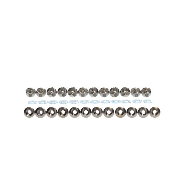 t-blade stabilizer screw set - Classic Steel (Set of 12)