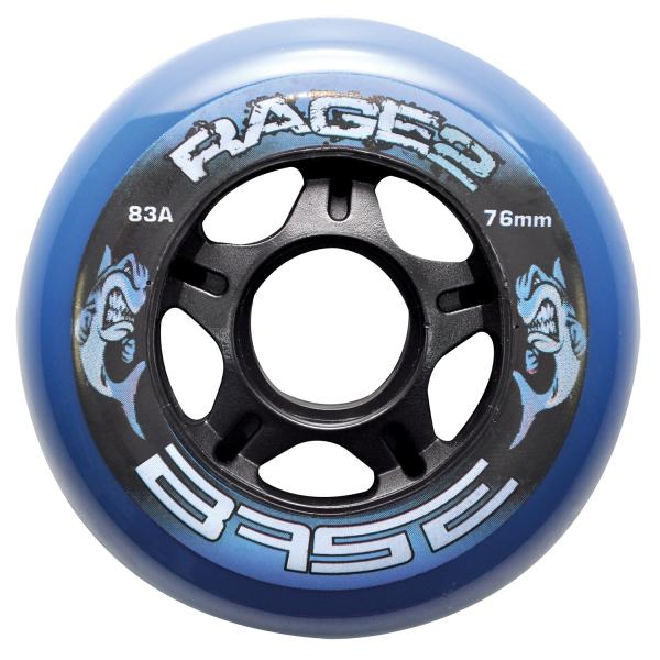Base Rage II Inline Rolle Outdoor 83A 4er Set